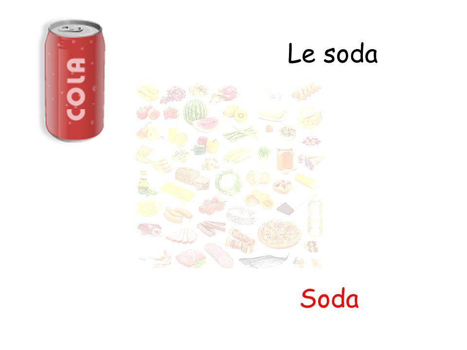 Le soda Soda