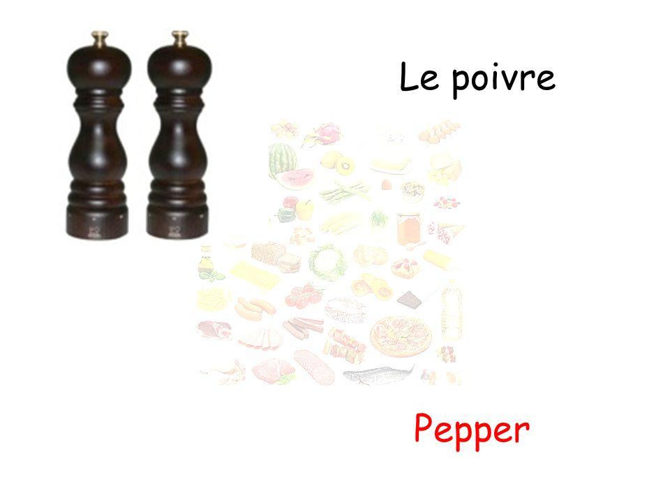 Le poivre Pepper