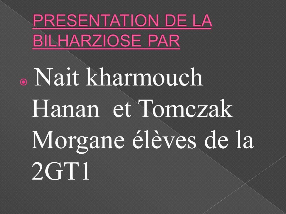 Nait kharmouch Hanan et Tomczak Morgane élèves de la 2GT1