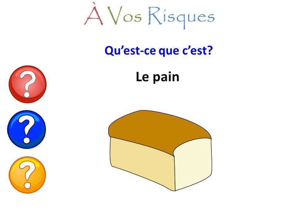 Le pain À Vos Risques Quest-ce que cest?