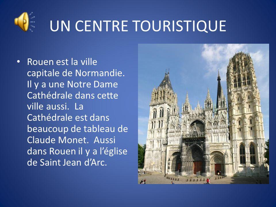 UN CENTRE TOURISTIQUE Caen est connu pour les immeubles historiques qui ont été construits dans le règne de Guillaume de Gagnent. Dans la deuxième gue