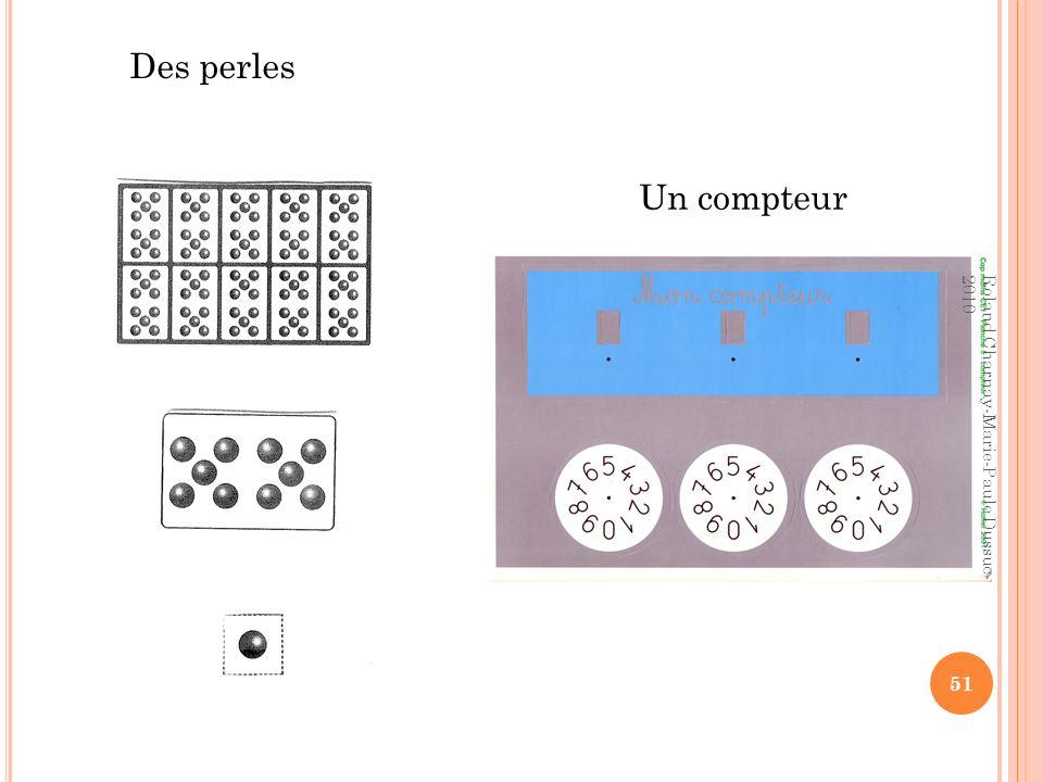 Des perles Un compteur 51 Roland Charnay-Marie-Paule Dussuc- 2010