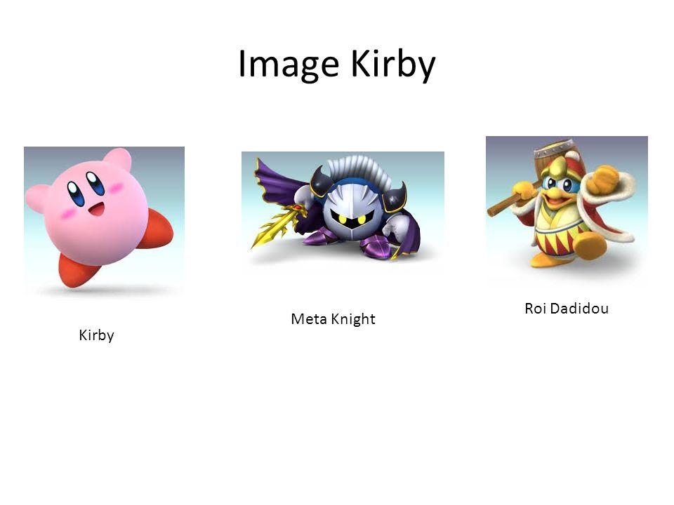 Image Kirby Kirby Meta Knight Roi Dadidou