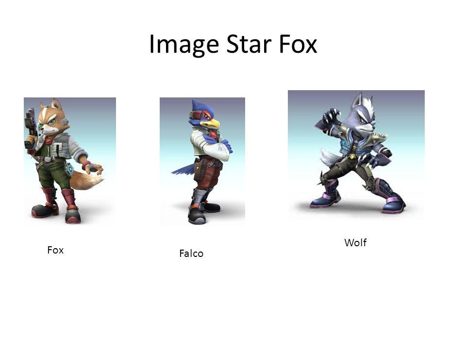 Image Star Fox Fox Falco Wolf