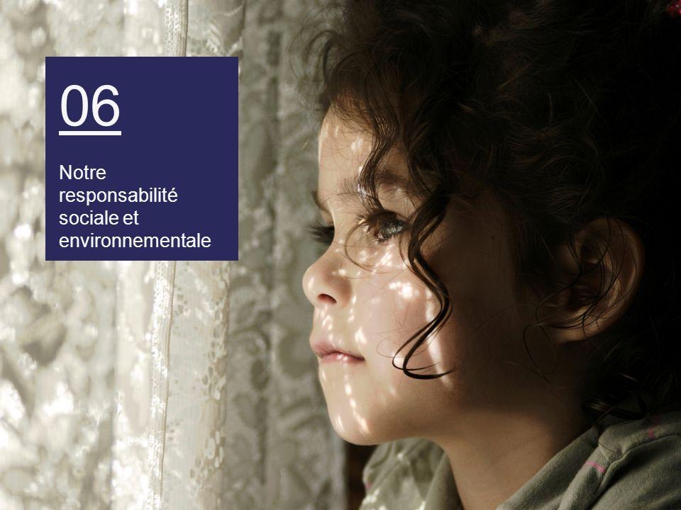 06 Notre responsabilité sociale et environnementale