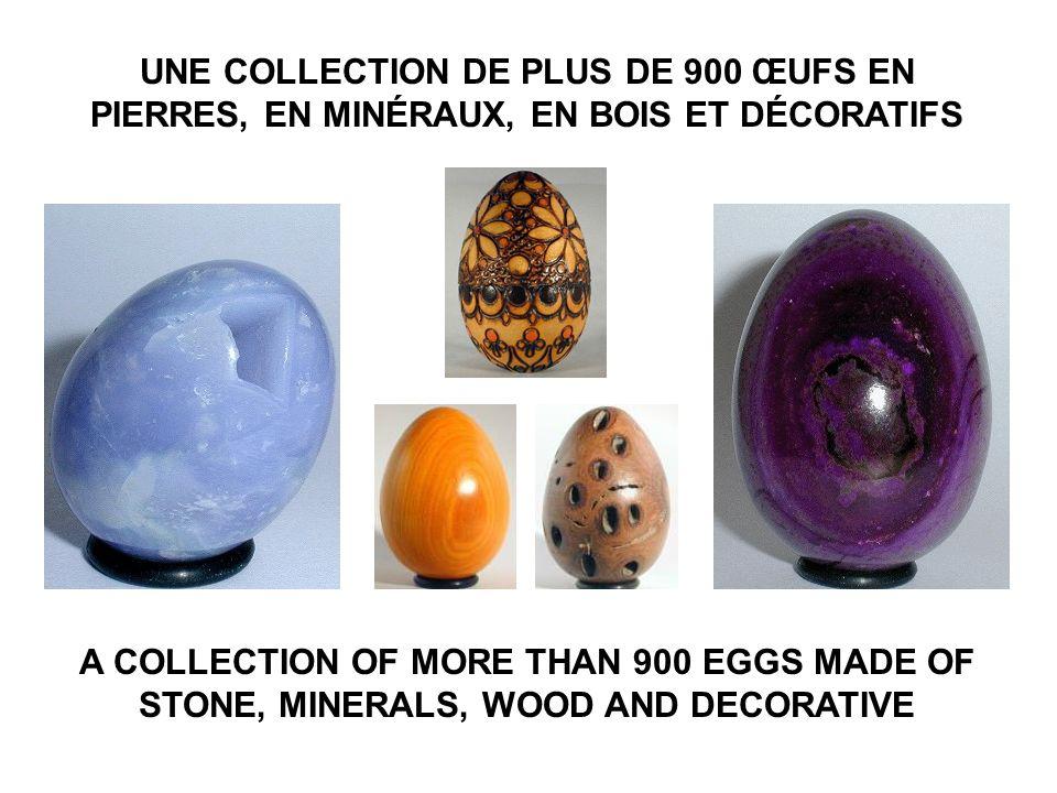 COLLECTION BOBEGGS ROBERT GARIÉPY © Web: www.bobeggs.ca Mail: robert@bobeggs.cawww.bobeggs.ca