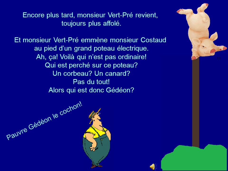 Que fait monsieur Costaud? 9 10