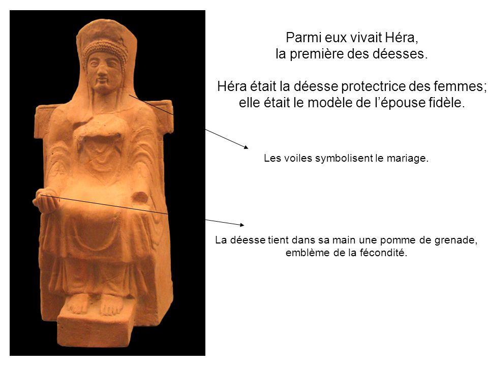 Or elle avait épousé Zeus, le dieu des dieux, séducteur incorrigible.