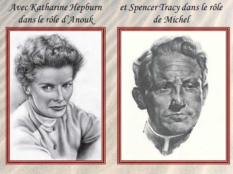 Un récit d Hervé Baudouy Que jai choisi dillustrer avec des photos du couple mythique: Katharine Hepburn et Spencer Tracy Attendez que la musique de Mozart démarre Les diapositives changent au clic de la souris