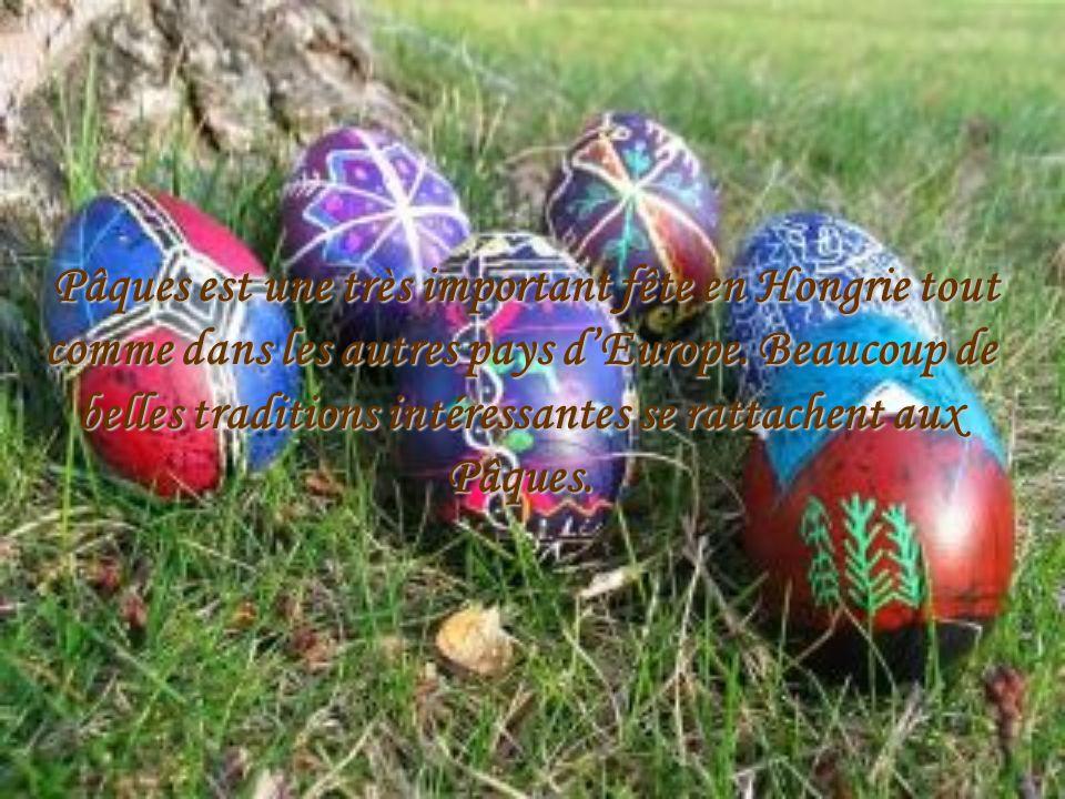 Pâques en Hongrie
