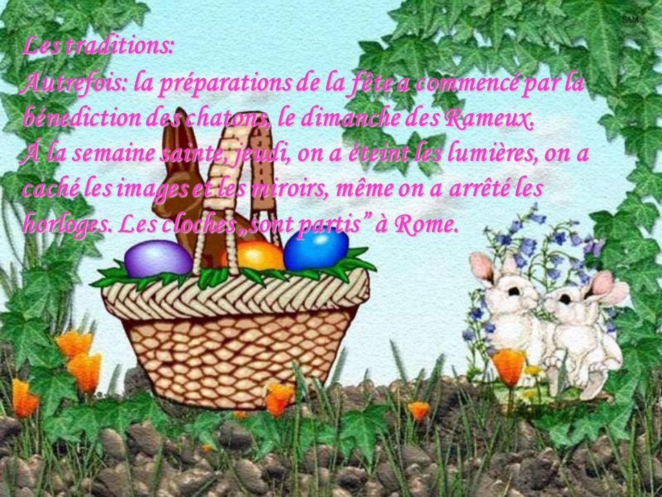 Pâques est une très important fête en Hongrie tout comme dans les autres pays dEurope.