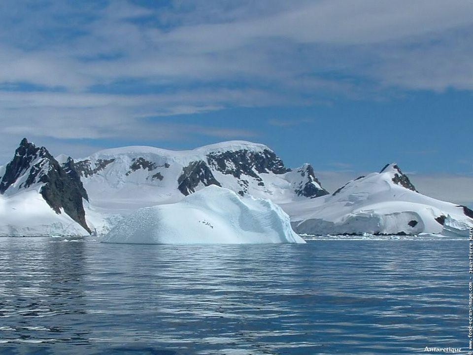 Le climat des côtes de l'Antarctique est extrèmement froid durant l'hiver. Les basses températures (souvent -30°C) sont renforcées par des vent violen