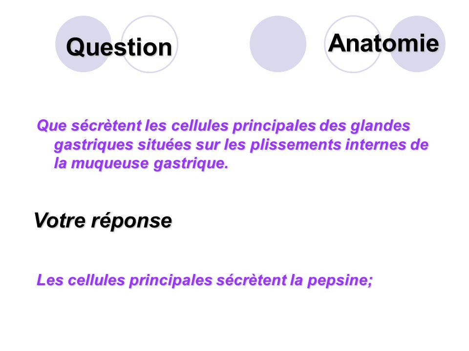 Question Citer les facteurs déclenchant la sécrétion de suc gastrique? Votre réponse Les stimulations psychiques déclenchent de façon réflexe la sécré