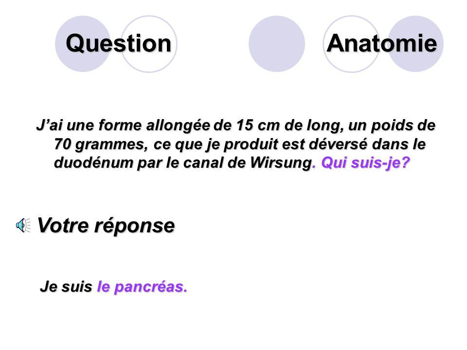 Question Définir la « constipation ». Votre réponse Exonération de moins de 3 selles par semaine. Variable dun individu à lautre. Sémio.