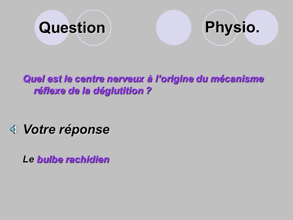 Question Le temps pharyngien est caractérisé par le mécanisme de la déglutition. Ce mécanisme est réflexe et volontaire. Expliquer ce mécanisme Votre