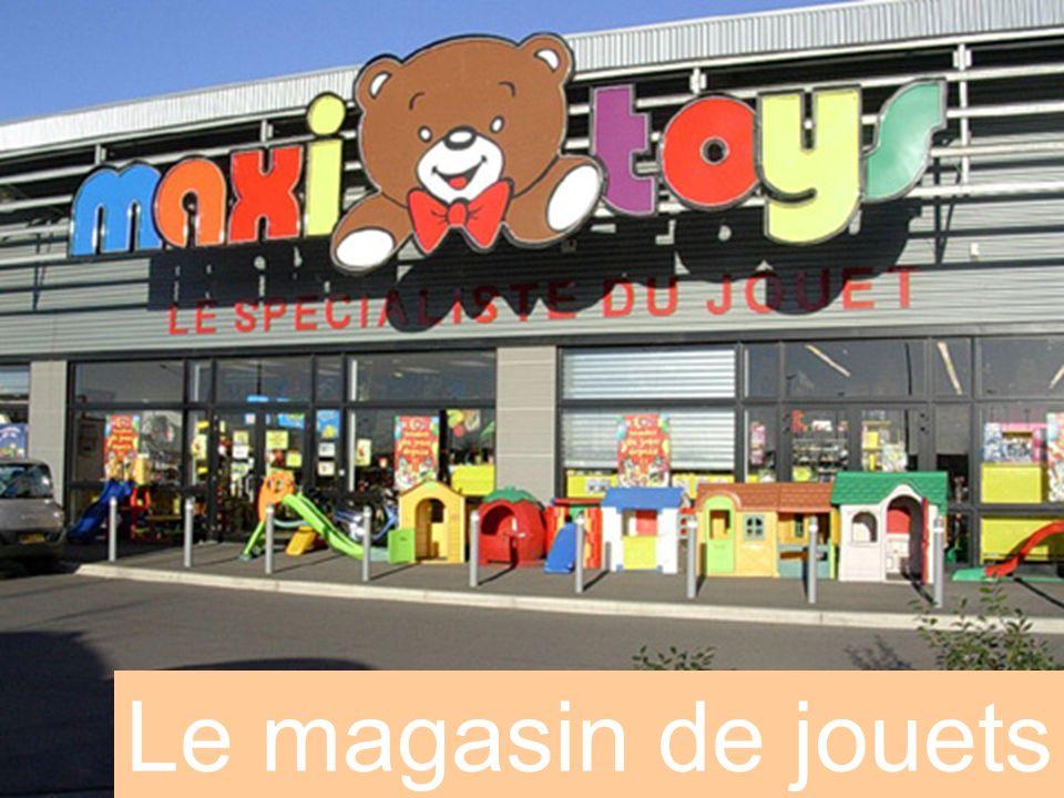 Le magasin de jouets