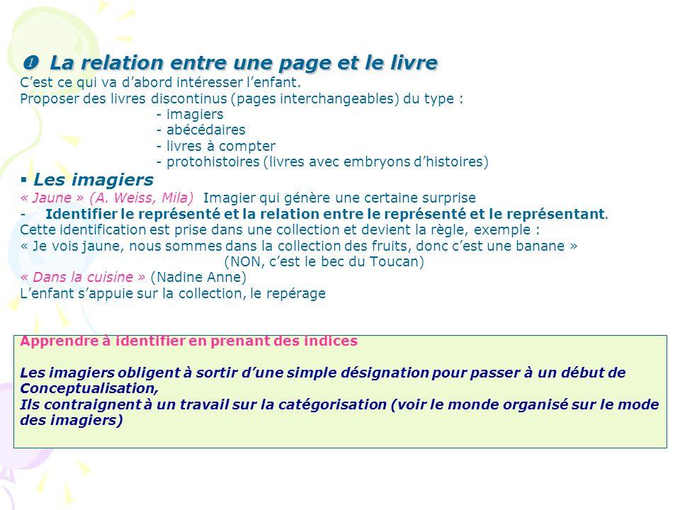 Les protohistoires « papa est malade » (Alain Lesaux, Hatier) Analyse : sur toutes les pages, il y a contraste entre ladulte et lenfant, il ny a pas de continuité du livre (lhabit du personnage-enfant change).