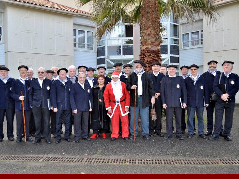 O LENTZERO (le charbonnier) L e 18/12/2012 Chorale Argileak soliste D.Lassallette Maison de retraite MAPAD Tarnos et Maison de retraite Harriola St Pierre dIrube.