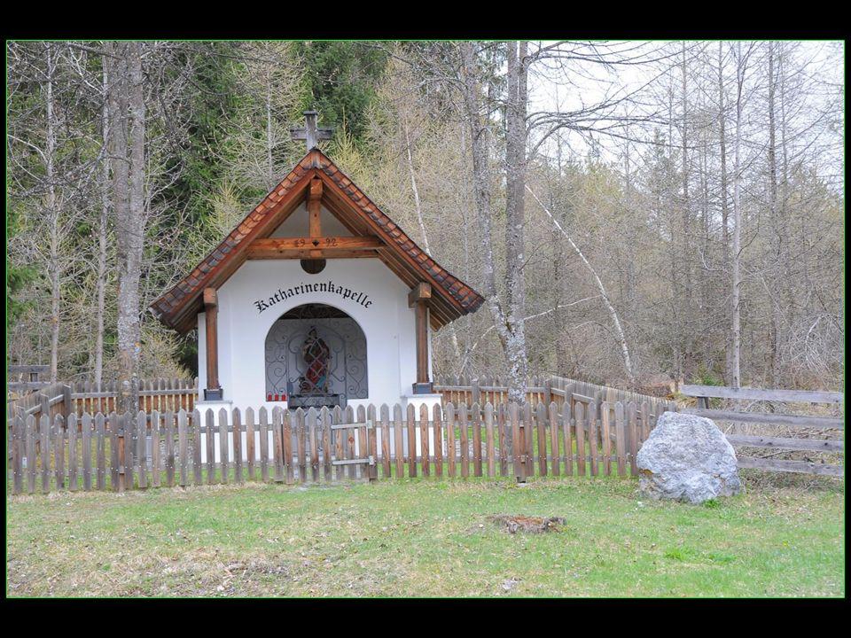 en face de la cabane des chasseurs, de lautre côté de la route, La chapelle Catherine Katharinenkapelle