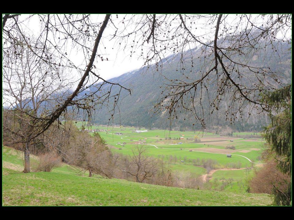 vues sur la vallée du Gurgl