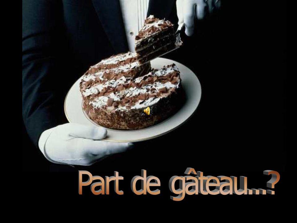La mère répond, Toutes ces choses ne sont pas cuites et goûtent mauvais, mais si tu les mets toutes ensemble......Elles font un gâteau délicieux!