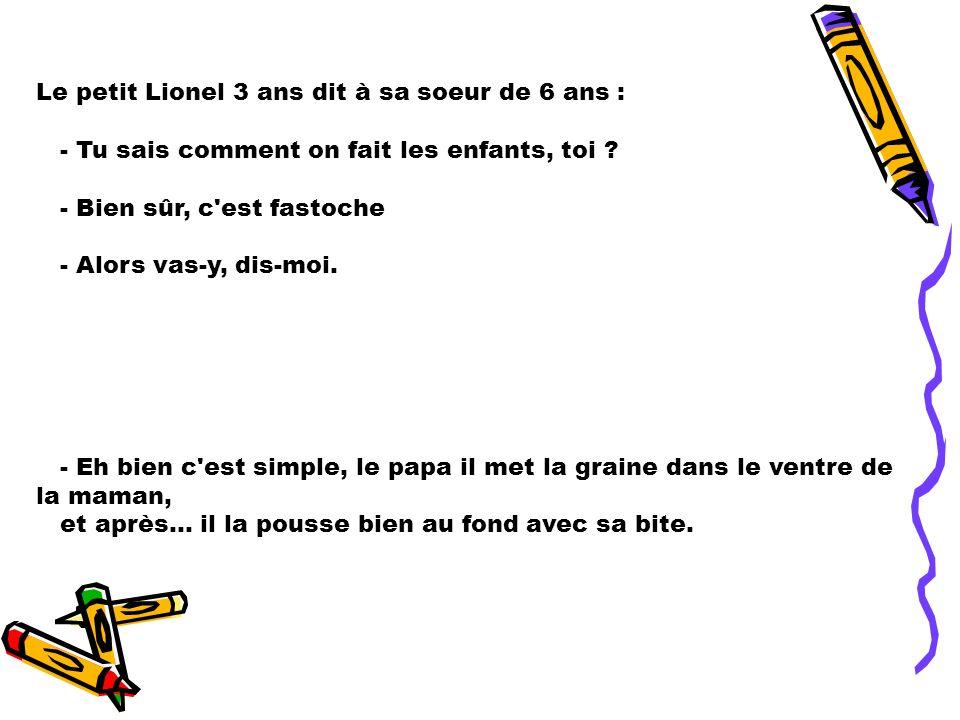 Le petit Lionel Bonne lecture..