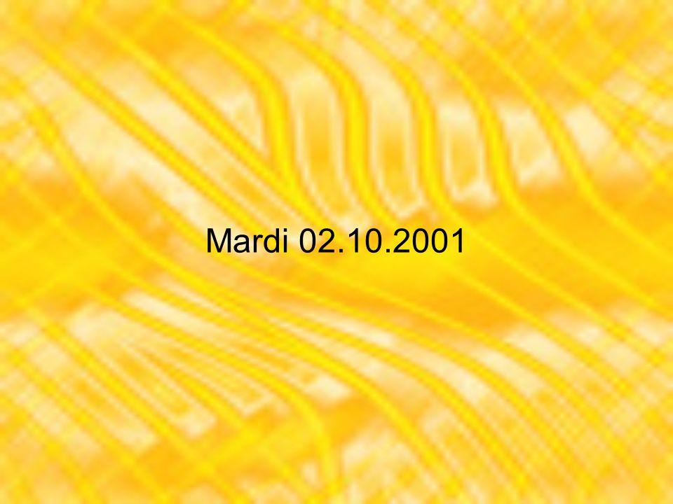 Dimanche 07.10.2001