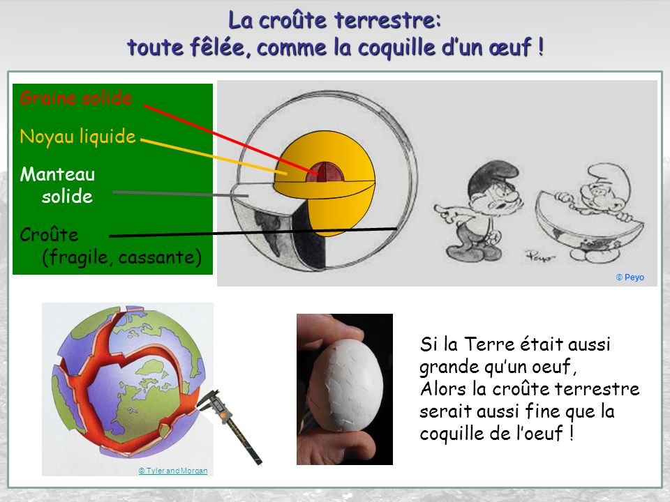 Zones de subduction (zone des grandes fosses océaniques) M. Van Camp & Google Earth
