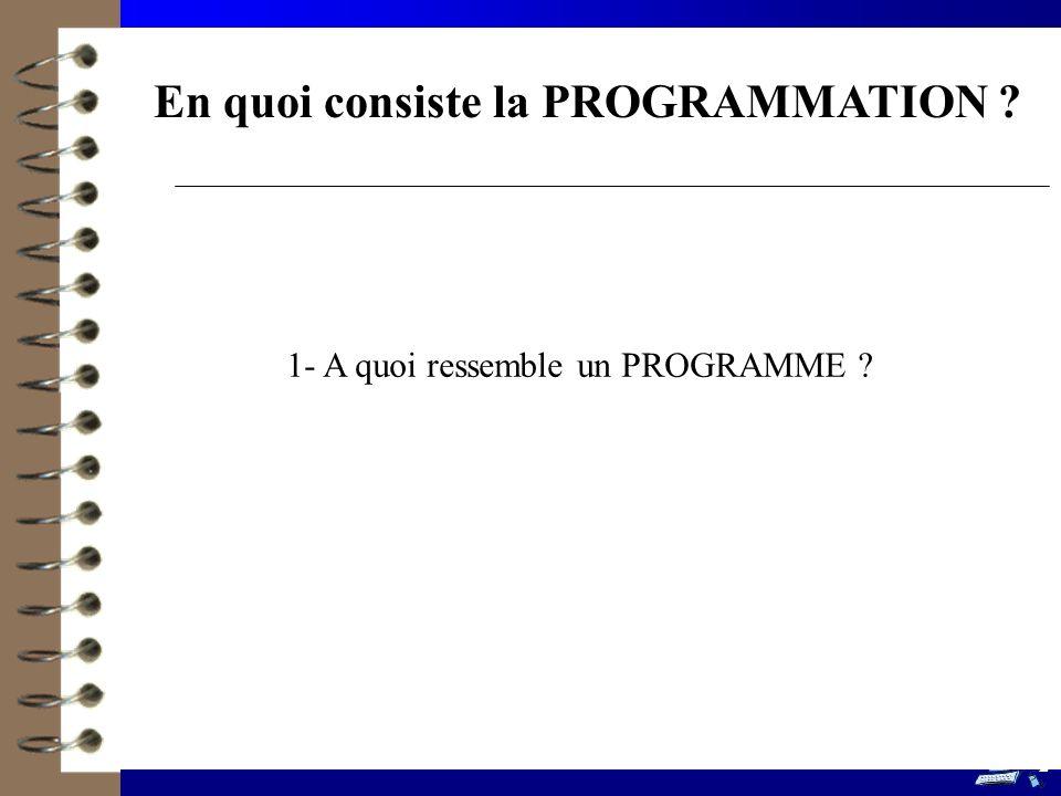 13 Les étapes de programmation à suivre en TP Définition PROGRAMMATION Concevoir, écrire et tester un programme répondant à un cahier des charges.