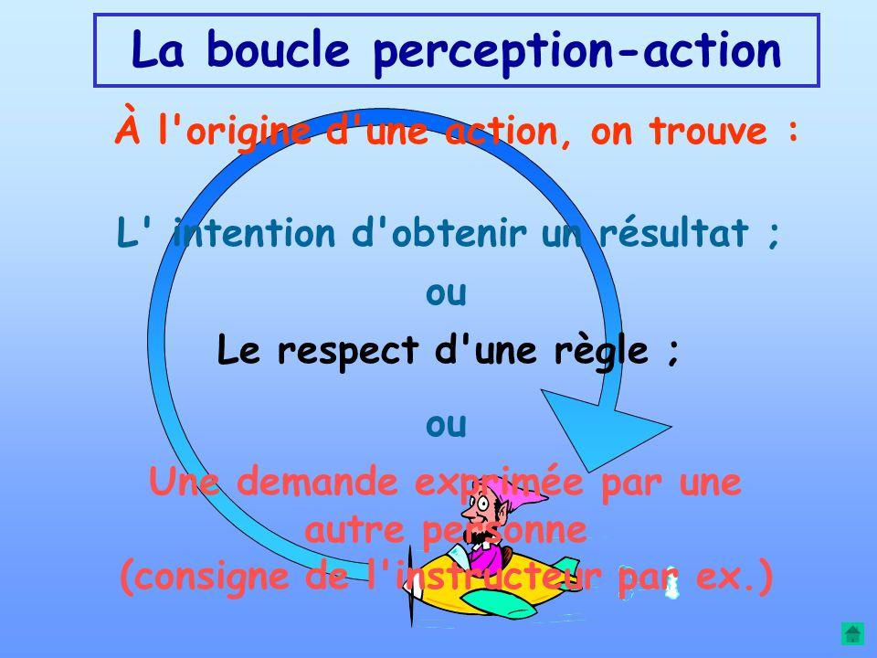 PROCESSUS MENTAUX DE L'ACTION ET DE L'APPRENTISSAGE Retour au sommaire Retour au sommaire