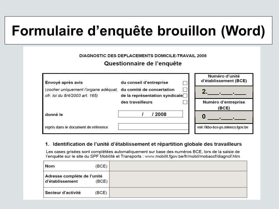 Formulaire denquête brouillon (Word)