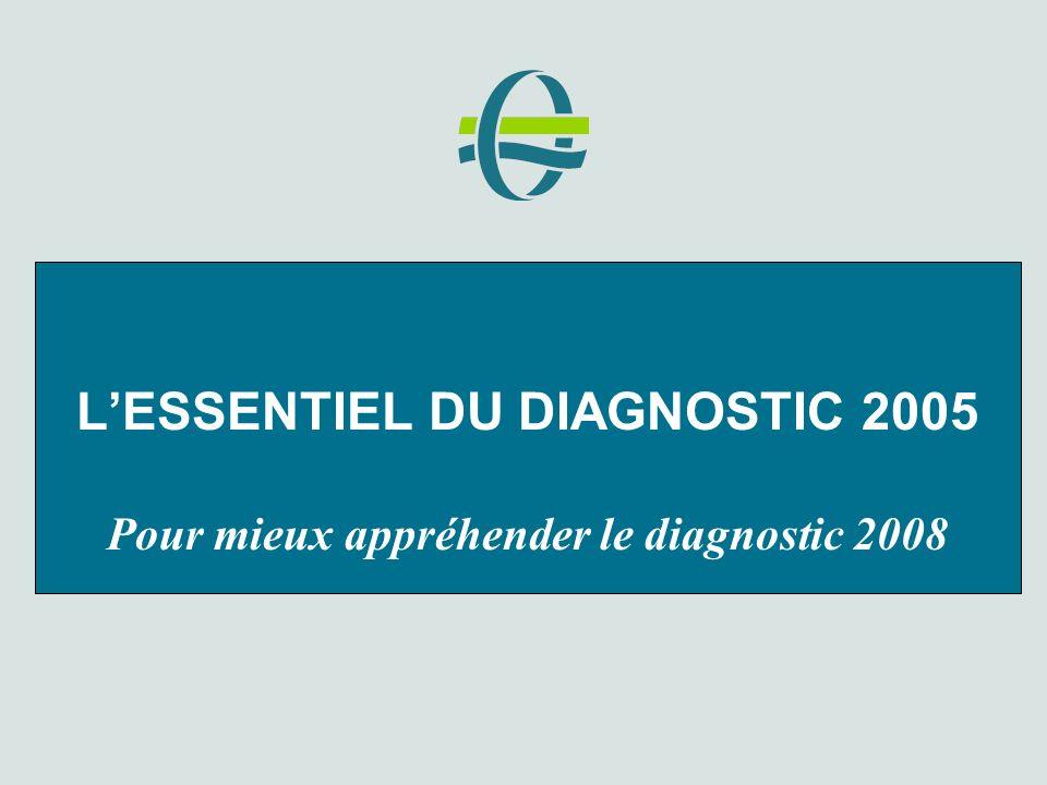 LESSENTIEL DU DIAGNOSTIC 2005 Pour mieux appréhender le diagnostic 2008