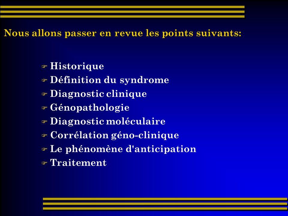 Comme c est souvent le cas, le gène a été découvert par approches successives (cf chapitre 1, Outils de la génétique moléculaire ).