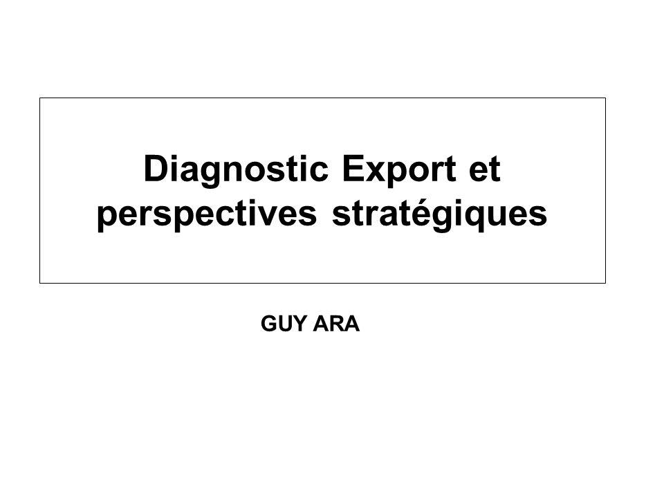 Diagnostic Export et perspectives stratégiques GUY ARA