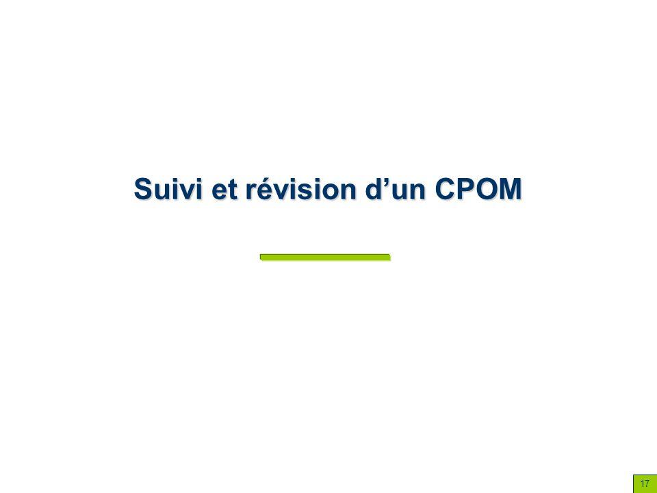 Suivi et révision dun CPOM 17