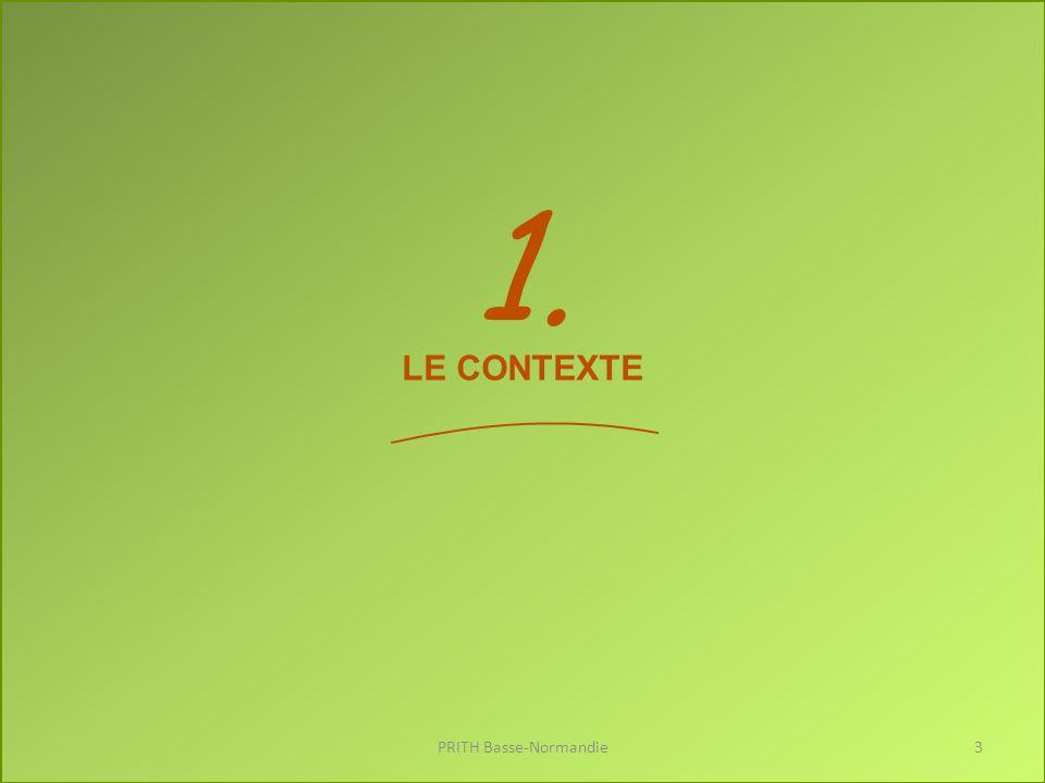 Les chiffres clefs PRITH Basse-Normandie4