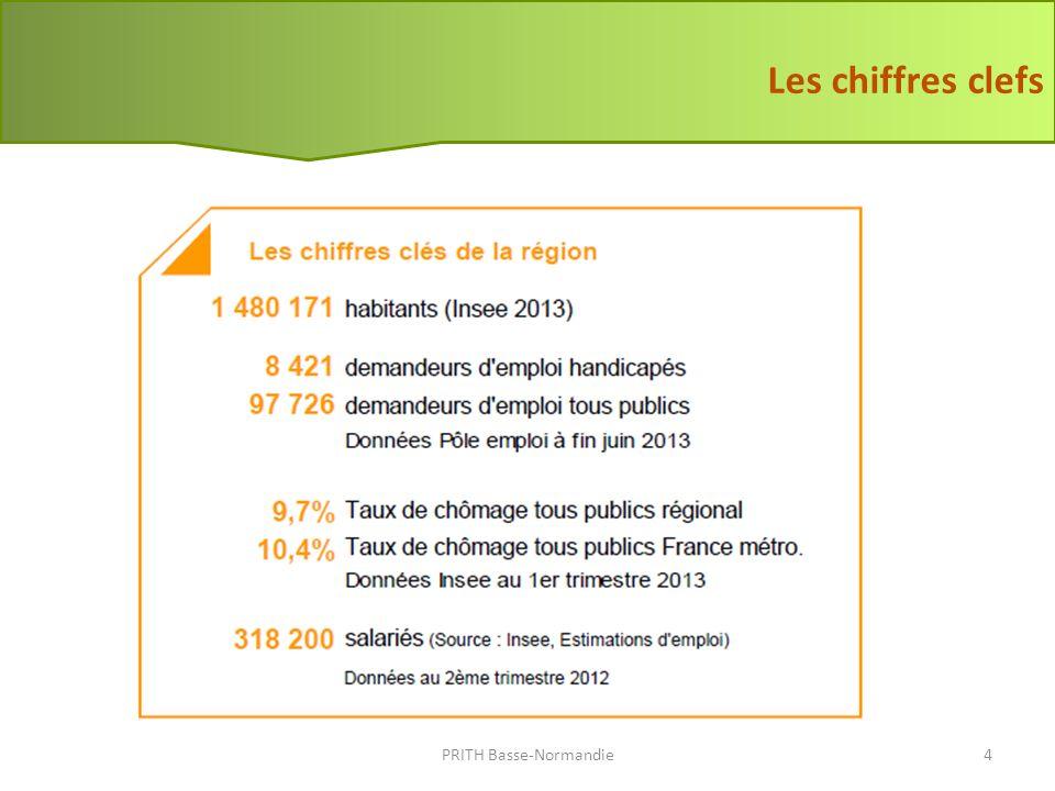 Source Pôle Emploi au 30/06/2013 La demande demploi (1) PRITH Basse-Normandie5 + 14% au national