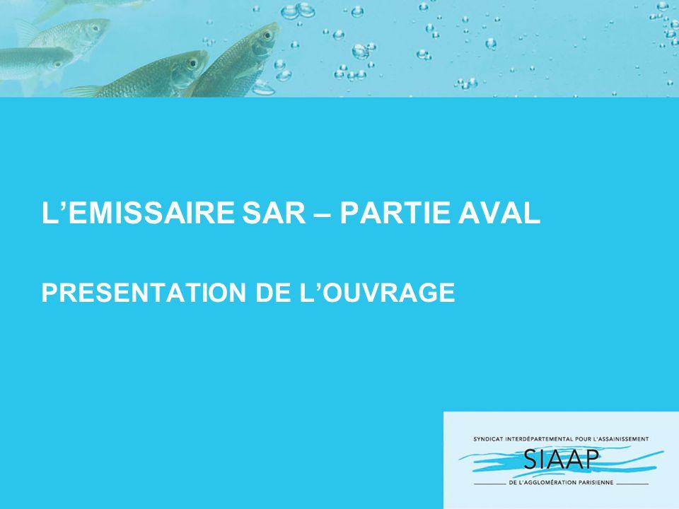 LEMISSAIRE SAR – PARTIE AVAL PRESENTATION DE LOUVRAGE