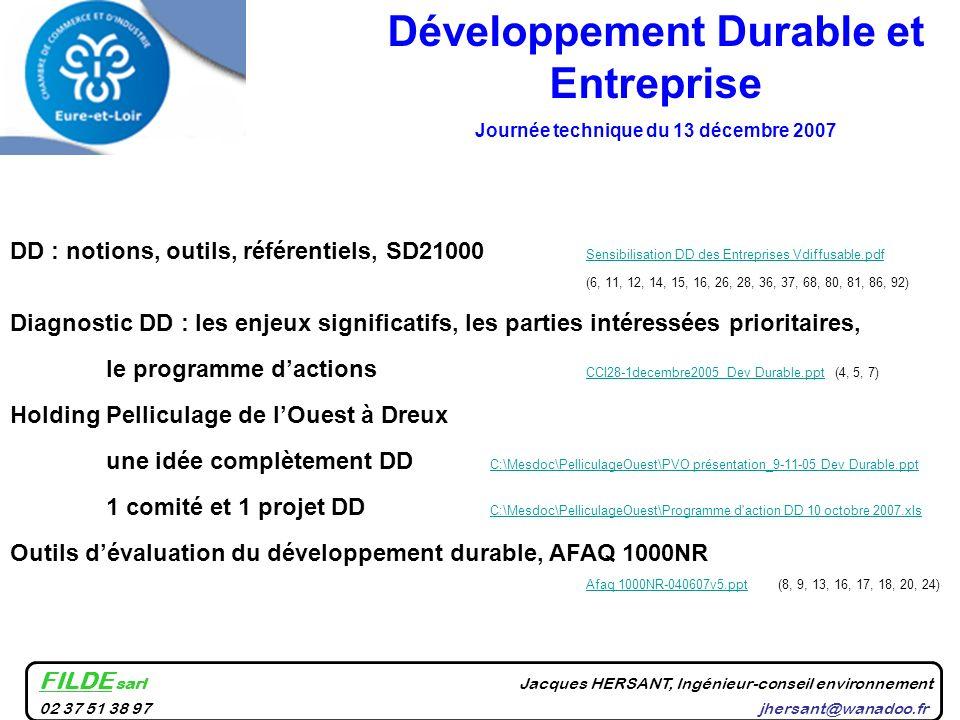 DD : notions, outils, référentiels, SD21000 Sensibilisation DD des Entreprises Vdiffusable.pdf Sensibilisation DD des Entreprises Vdiffusable.pdf (6,