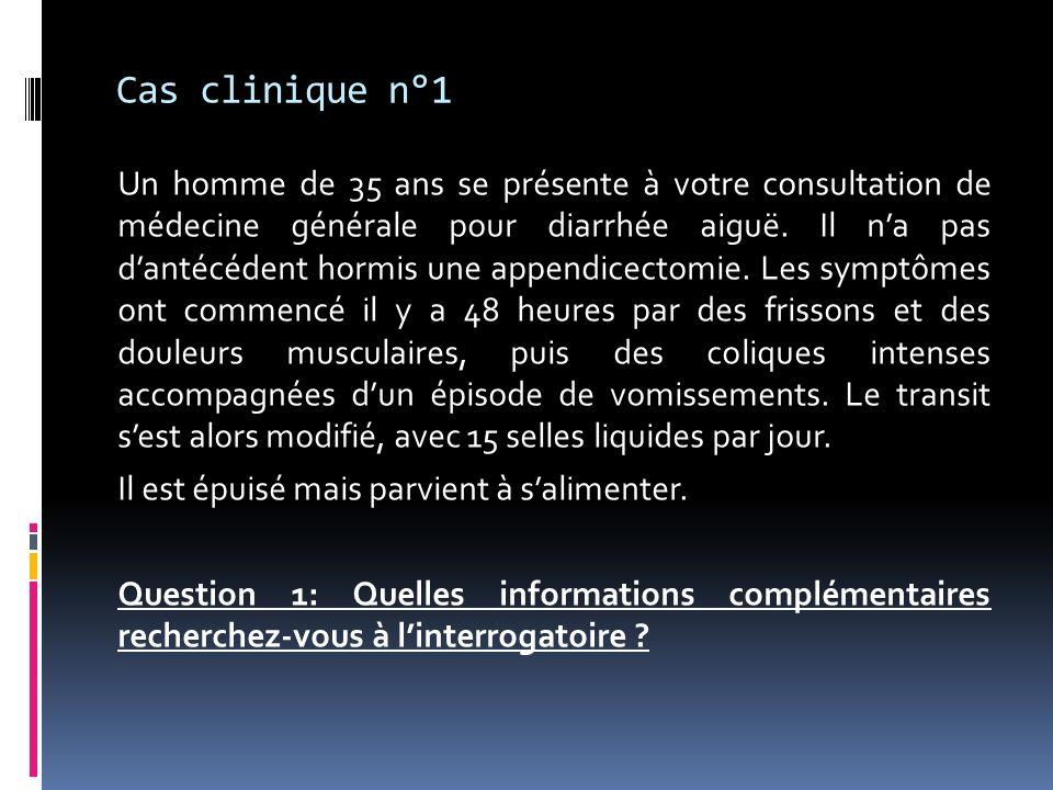 Cas clinique n°2 Question 2: comment complétez-vous votre examen clinique .