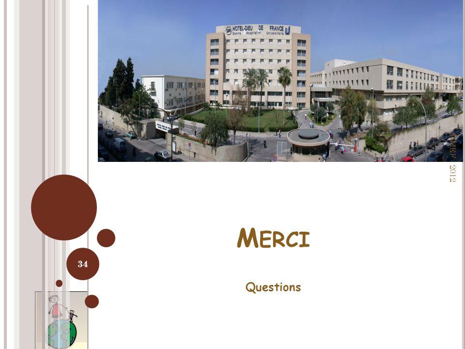 M ERCI Questions RMEF - 2012 34
