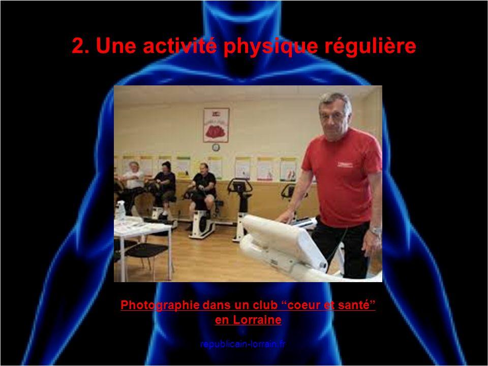 2. Une activité physique régulière Photographie dans un club coeur et santé en Lorraine republicain-lorrain.fr