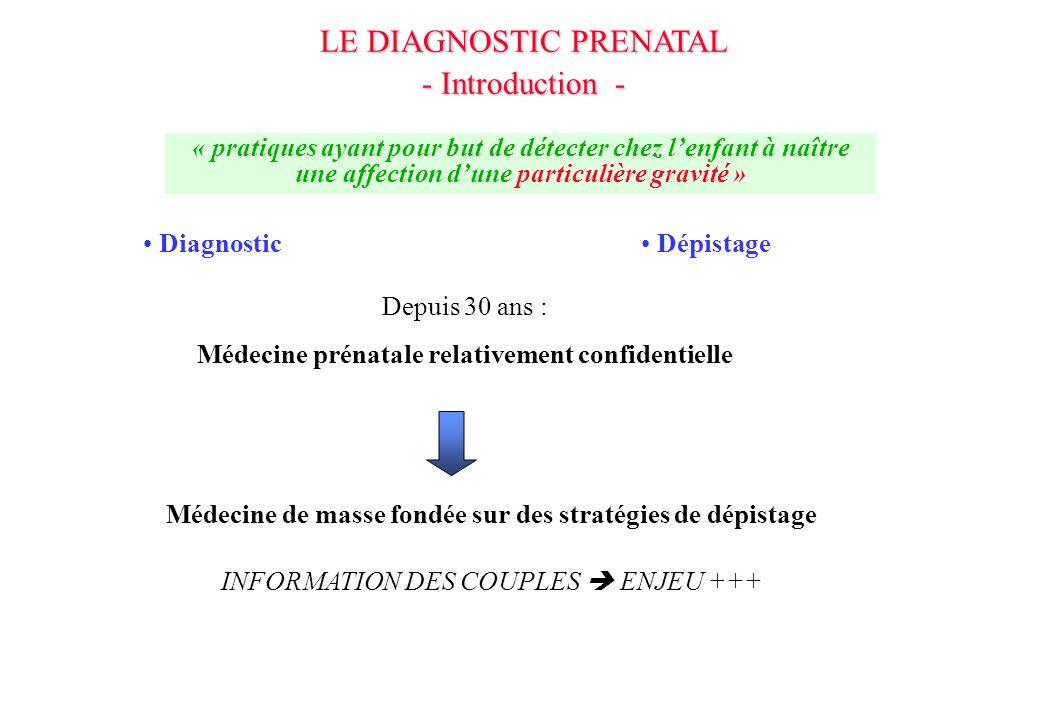 DONNEES POUR QUELQUES MALADIES HEREDITAIRES Mucoviscidose Myotonie de Steinert Amyotrophie spinale infantile Hémoglobinopathies Myopathie de Duchenne Syndrome de lX-fragile Hémophilies Maladie de Huntington Incidence 1/4300 1/5000 1/6000 1/1500 en IDF 1/3500 1/4000, 1/7000 1/5000 (HA) 1/20 000 Nb naissances/an (180) 160 130 115 160 80 40 Nb DPN/an 240 60 130 190 130 80 40 5