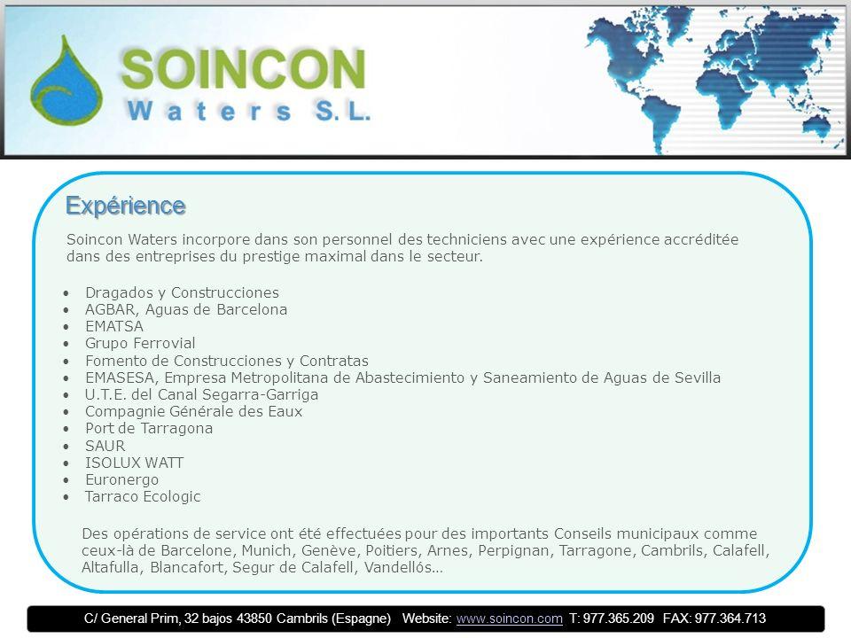 Distribution Soincon Waters distribue et travaille avec matériel de dernière génération de SEBA KMT, une entreprise leader en développement et fabrication d équipements de mesure pour le diagnostic de l état des réseaux et la localisation de failles.