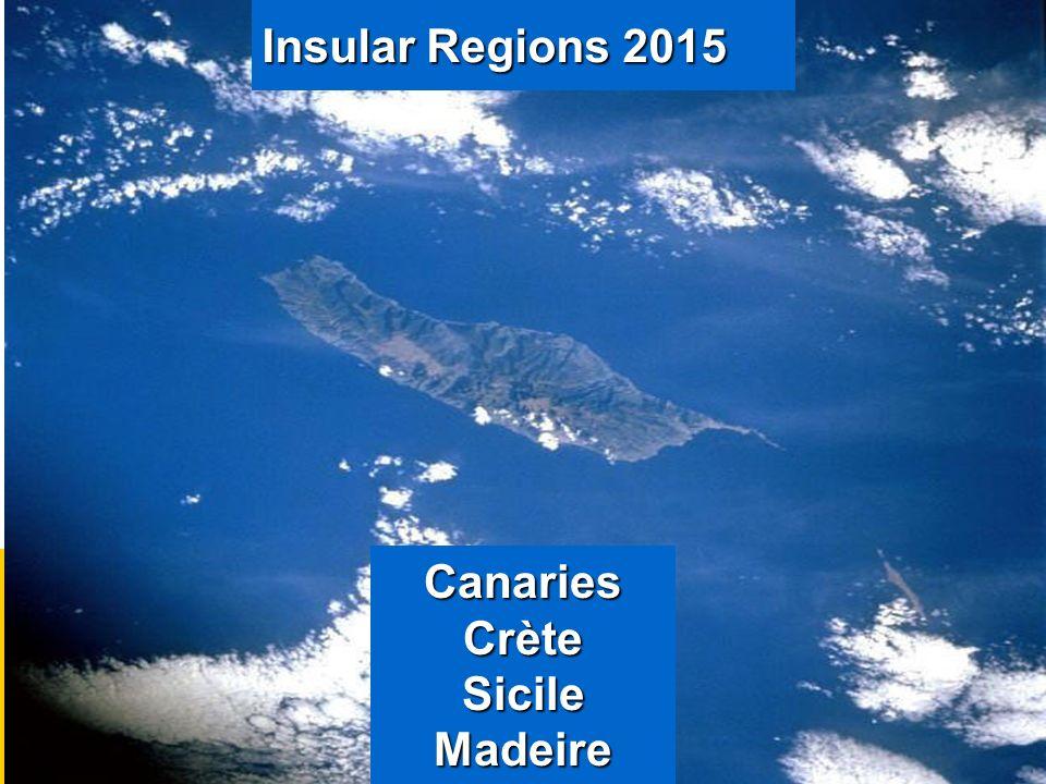 Insular Regions 2015 Canaries Crète Sicile Madeire