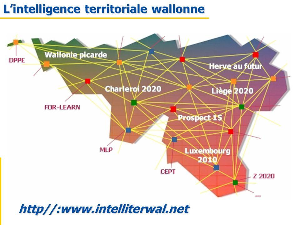 http//:www.intelliterwal.net Lintelligence territoriale wallonne