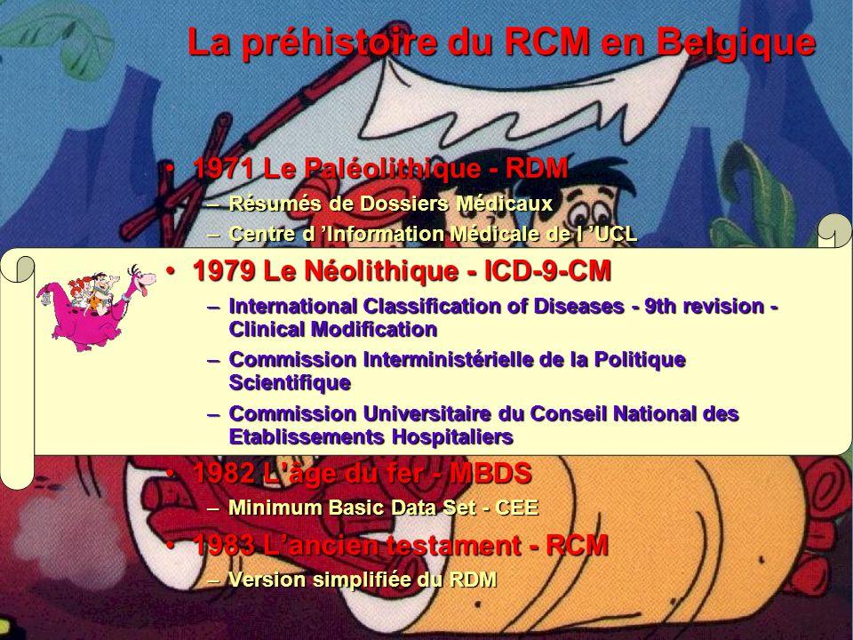 RESUME MEDICAL PERIPHERIQUE 1 GESTION DE L IDENTIFICATION 2 EDITION DU R.C.M.