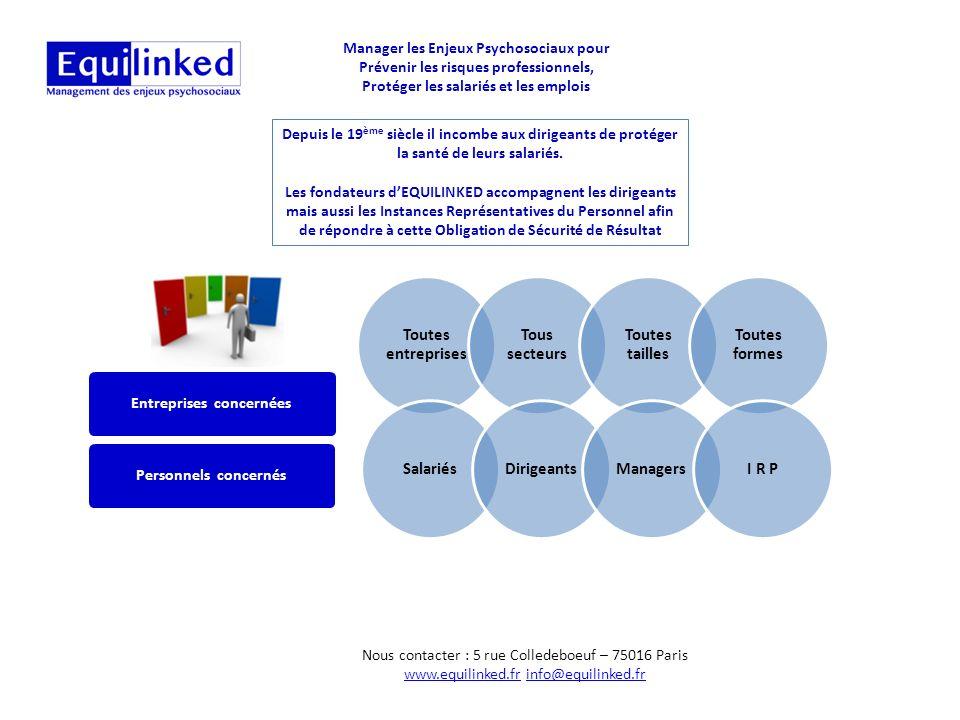 Manager les Enjeux Psychosociaux pour Prévenir les risques professionnels, Protéger les salariés et les emplois La Mise en Conformité Politique de pré