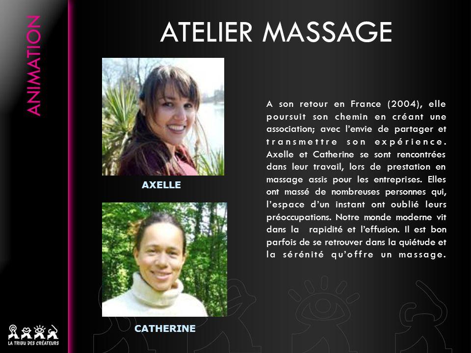 A son retour en France (2004), elle poursuit son chemin en créant une association; avec lenvie de partager et transmettre son expérience.