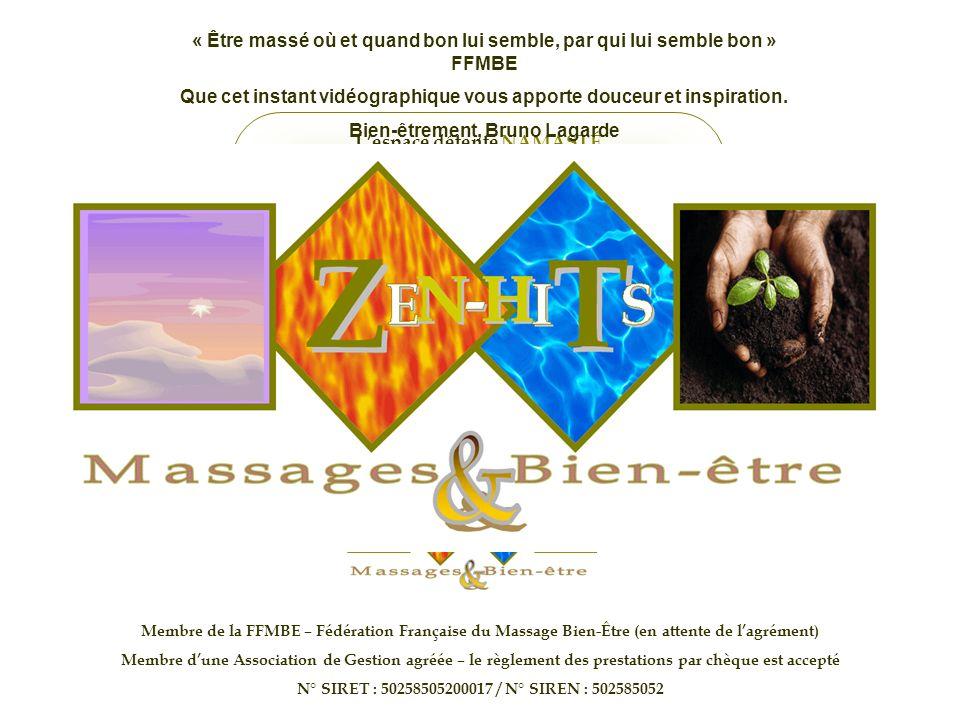 Lespace détente NAMASTÉ vous propose aussi « Le massage assis minute® » Un maximum de bienfaits en un minimum de temps La pause massage par excellence